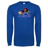 Royal Long Sleeve T Shirt-Mascot