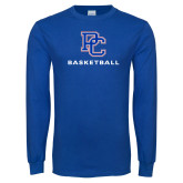 Presbyterian Royal Long Sleeve T Shirt-Basketball