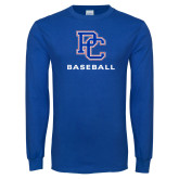 Presbyterian Royal Long Sleeve T Shirt-Baseball