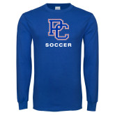 Presbyterian Royal Long Sleeve T Shirt-Soccer