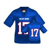 Youth Replica Royal Football Jersey-#17