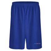 College Russell Performance Royal 9 Inch Short w/Pockets-Blue Hose