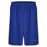 Midcourt Performance Royal 9 Inch Short w/Pockets-Blue Hose