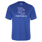 College Performance Royal Tee-Football