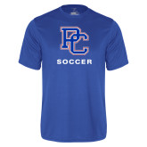 College Performance Royal Tee-Soccer