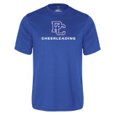 College Performance Royal Tee-Cheerleading