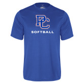 College Performance Royal Tee-Softball