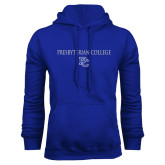 College Royal Fleece Hoodie-Presbyterian College w PC