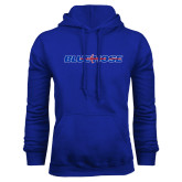 College Royal Fleece Hoodie-Blue Hose