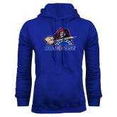 College Royal Fleece Hoodie-Mascot