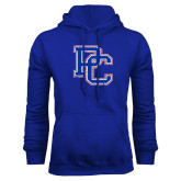 College Royal Fleece Hoodie-PC Distressed
