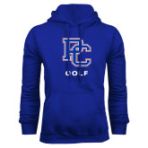 College Royal Fleece Hoodie-Golf