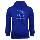 College Royal Fleece Hoodie-Soccer