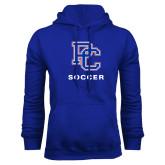 College Royal Fleece Hoodie-Soccer