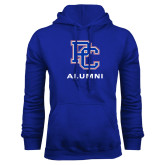 College Royal Fleece Hoodie-Alumni