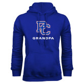 College Royal Fleece Hoodie-Grandpa