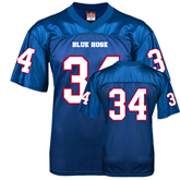 Replica Royal Blue Adult Football Jersey-#34