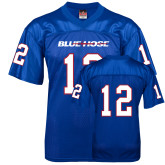 College Replica Royal Adult Football Jersey-#12