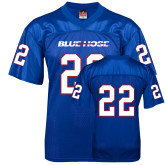 College Replica Royal Adult Football Jersey-#22
