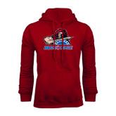 Cardinal Fleece Hood-Mascot