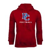 Cardinal Fleece Hood-Football
