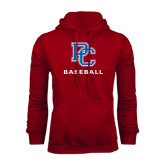 Cardinal Fleece Hood-Baseball