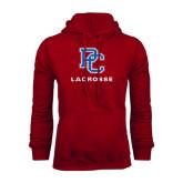 Cardinal Fleece Hood-Lacrosse