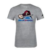 Adidas Sport Grey Logo T Shirt-Mascot