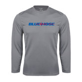 Syntrel Performance Steel Longsleeve Shirt-Blue Hose
