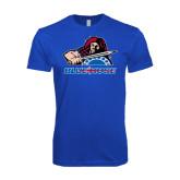 Next Level SoftStyle Royal T Shirt-Mascot