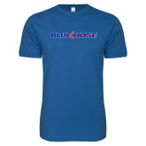 Presbyterian Next Level SoftStyle Royal T Shirt-Blue Hose
