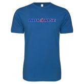 Next Level SoftStyle Royal T Shirt-Blue Hose