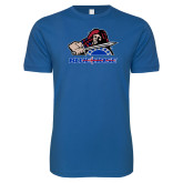 Presbyterian Next Level SoftStyle Royal T Shirt-Mascot