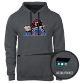 College Contemporary Sofspun Charcoal Heather Hoodie-Mascot