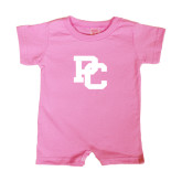 Bubble Gum Pink Infant Romper-PC