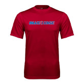 Syntrel Performance Cardinal Tee-Blue Hose