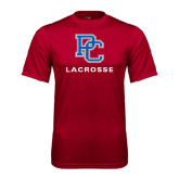 Syntrel Performance Cardinal Tee-Lacrosse