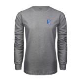 Grey Long Sleeve T Shirt-PC