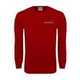 Cardinal Long Sleeve T Shirt-Blue Hose