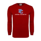 Cardinal Long Sleeve T Shirt-Cross Country