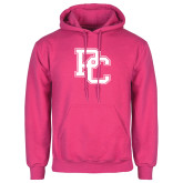 College Fuchsia Fleece Hoodie-PC