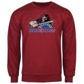 Cardinal Fleece Crew-Mascot