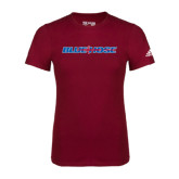 Adidas Cardinal Logo T Shirt-Blue Hose
