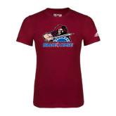 Adidas Cardinal Logo T Shirt-Mascot