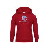 Youth Cardinal Fleece Hood-Basketball