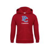 Youth Cardinal Fleece Hood-Tennis
