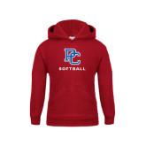 Youth Cardinal Fleece Hood-Softball