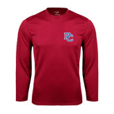 Syntrel Performance Cardinal Longsleeve Shirt-PC