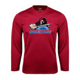 Syntrel Performance Cardinal Longsleeve Shirt-Mascot
