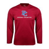 Syntrel Performance Cardinal Longsleeve Shirt-Cross Country
